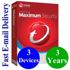 Antivirus Software Computer Software System Digital Key Trend Micro 2019 Maximum Security 3 Year 3 Device