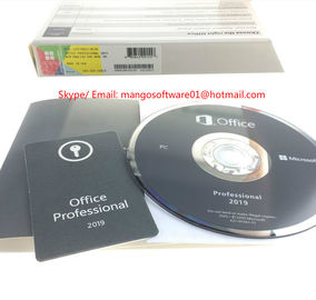 DVD Retail Box Microsoft Office Vision 2019 Software Activation Online For PC
