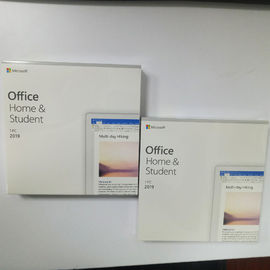 Office 2019 Home and Student Retail Box Package Forever Valid Wit Key Card