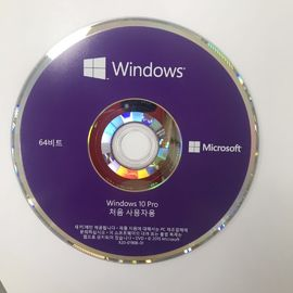New version OEM Package Microsoft software retail license key with DVD download Windows 10 Pro Korean Language
